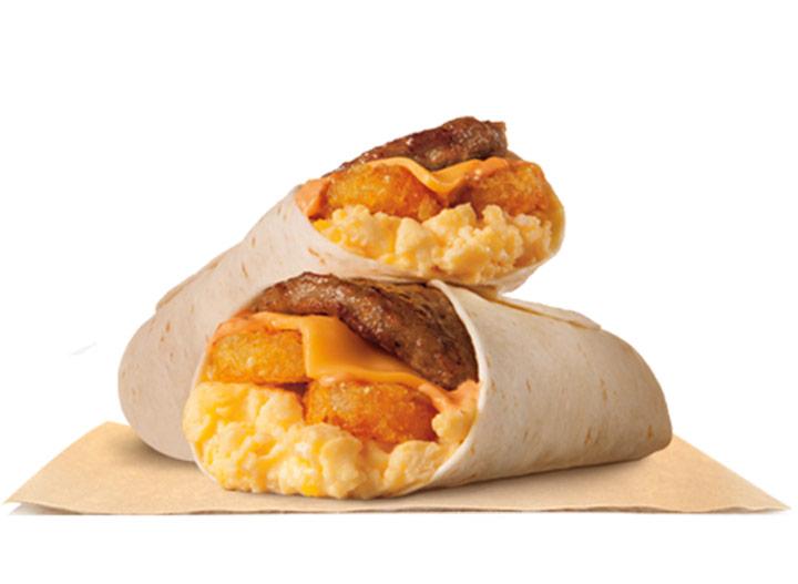 Burger king breakfast burrito jr