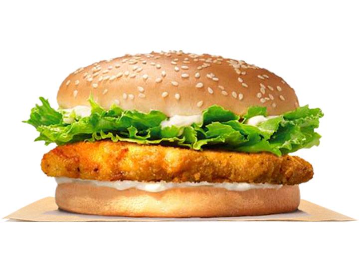 Burger king crispy chicken jr
