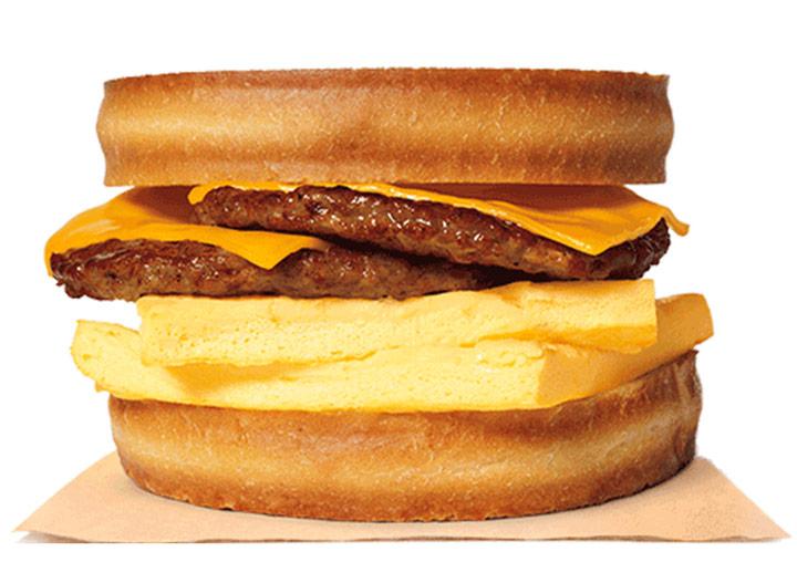 Burger king double sausage sourdough king