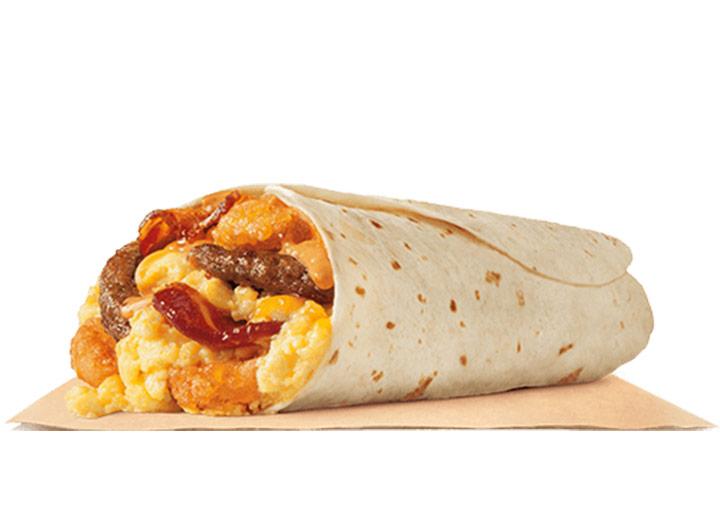Burger king eggnormous burrito