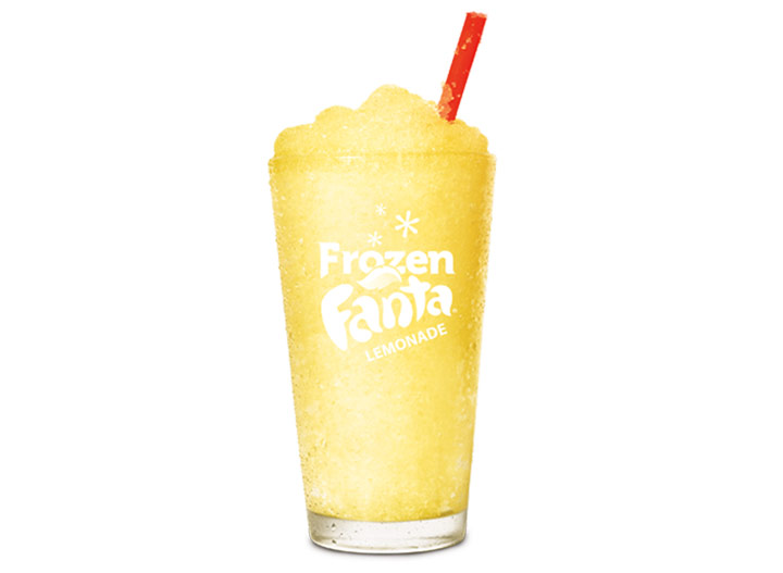 Burger king frozen lemonade