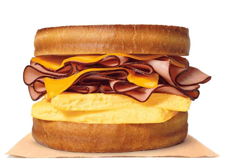 Burger king ham sourdough king