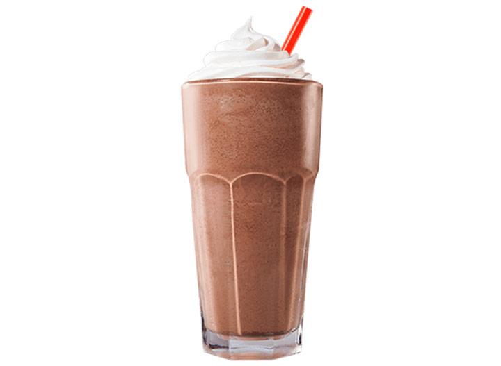 Burger king hand spun chocolate shake