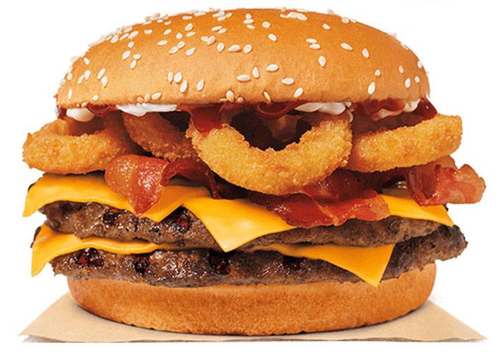 Burger king rodeo king burger