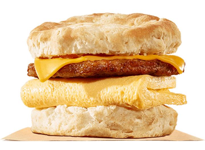 Burger king sausage egg cheese biscuit