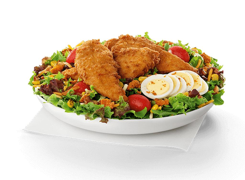 Chick fil a cobb salad chicken strips