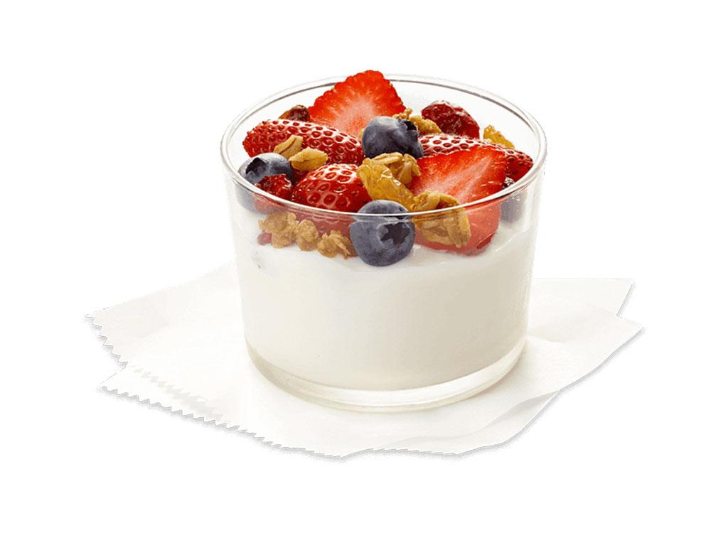 Chick fil a greek yogurt parfait