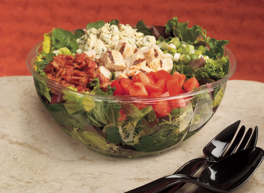 Cosi cobb salad as one of the unhealthiest restaurant salads