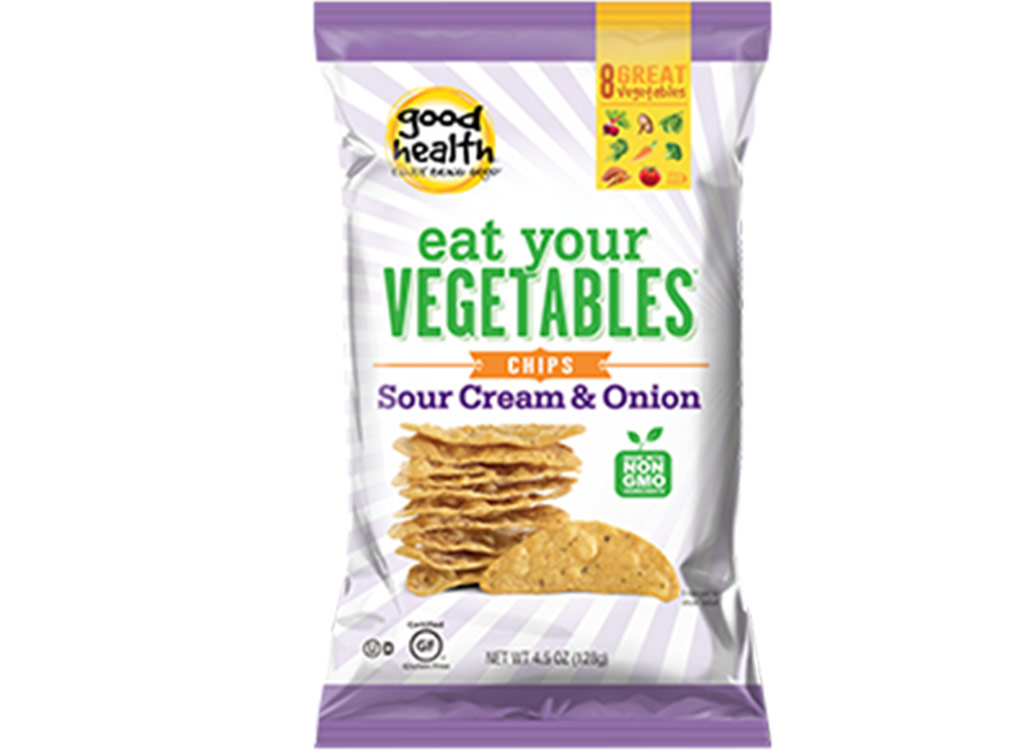 Eat your vegetables sour cream and onion chips