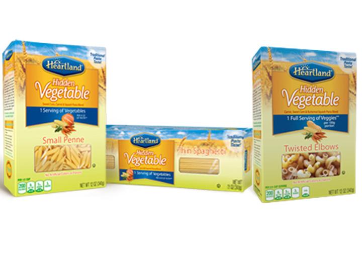 Heartland hidden veggie pasta