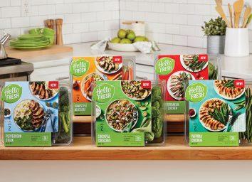HelloFresh new meal kits