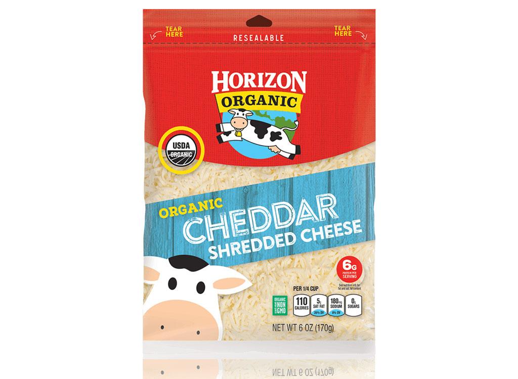 Horizon organic cheddar shredded cheese