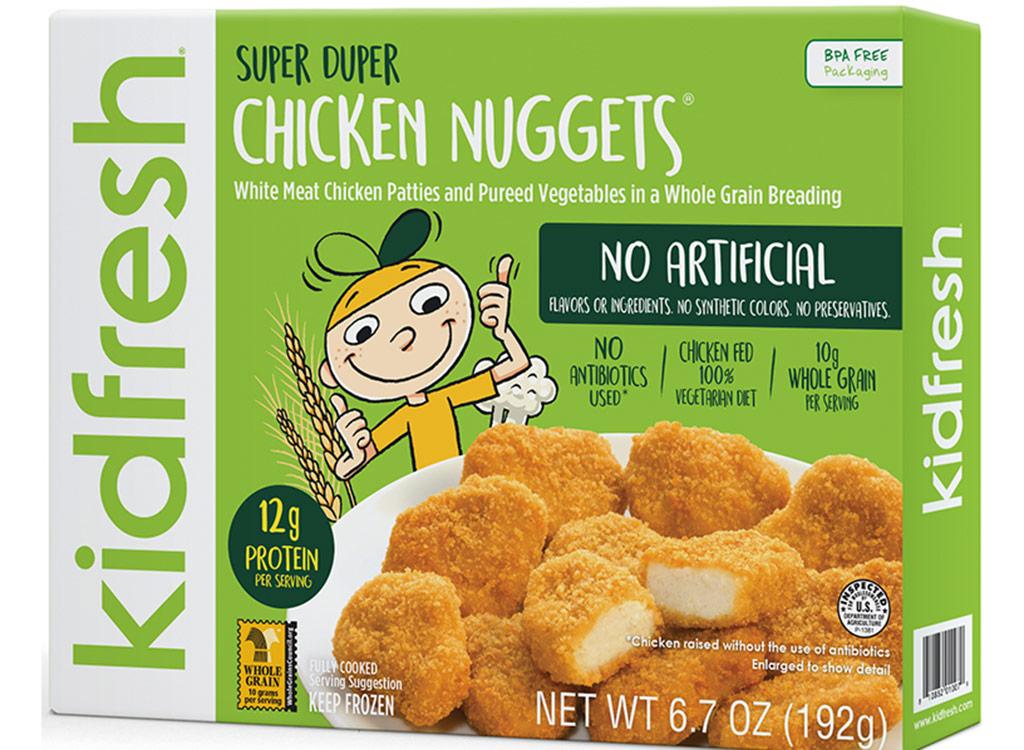 Kidfresh chicken nuggets