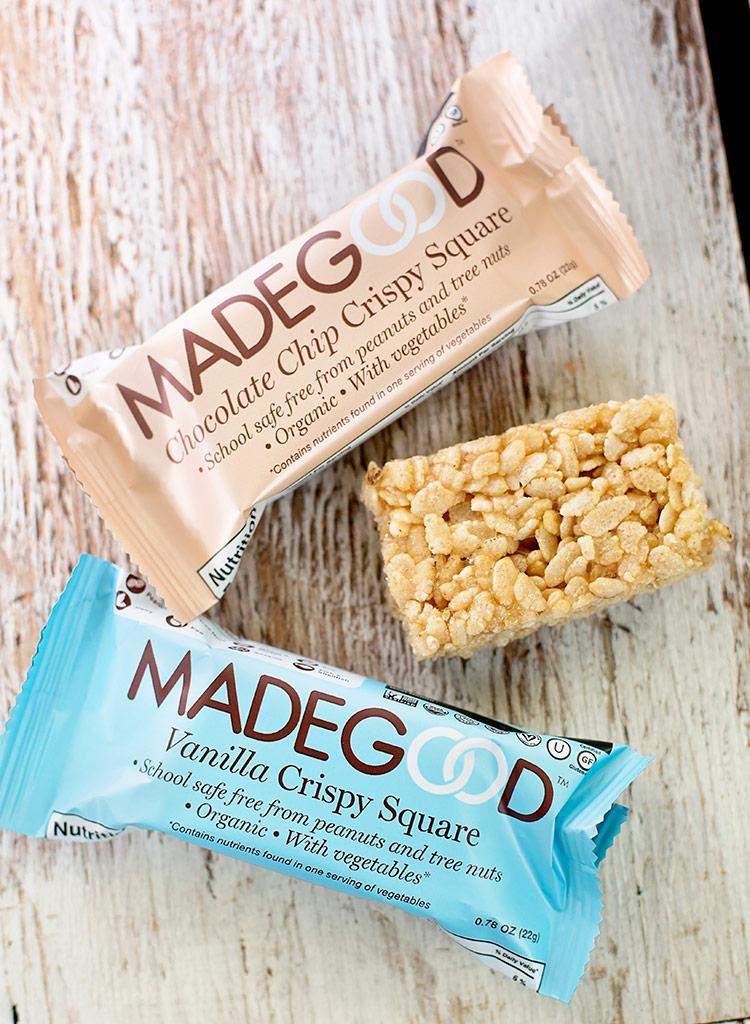 Madegood chocolate chip crispy square