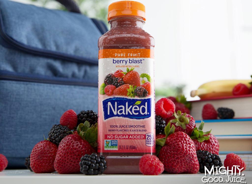 Naked berry blast juice