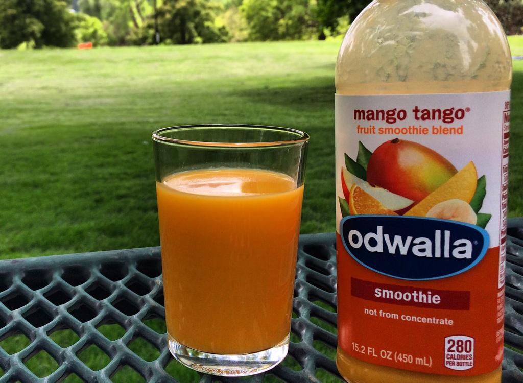 Odwalla mango tango smoothie