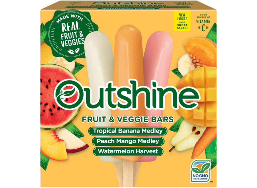 Outshine fruit and veggie bars