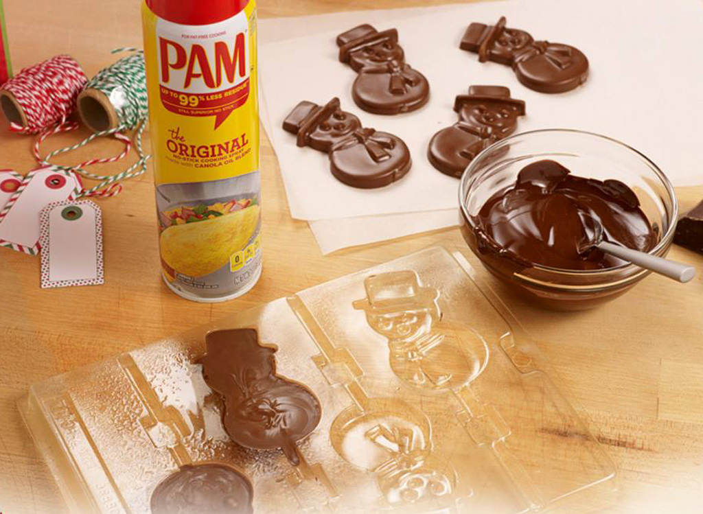 Pam cooking spray cookies