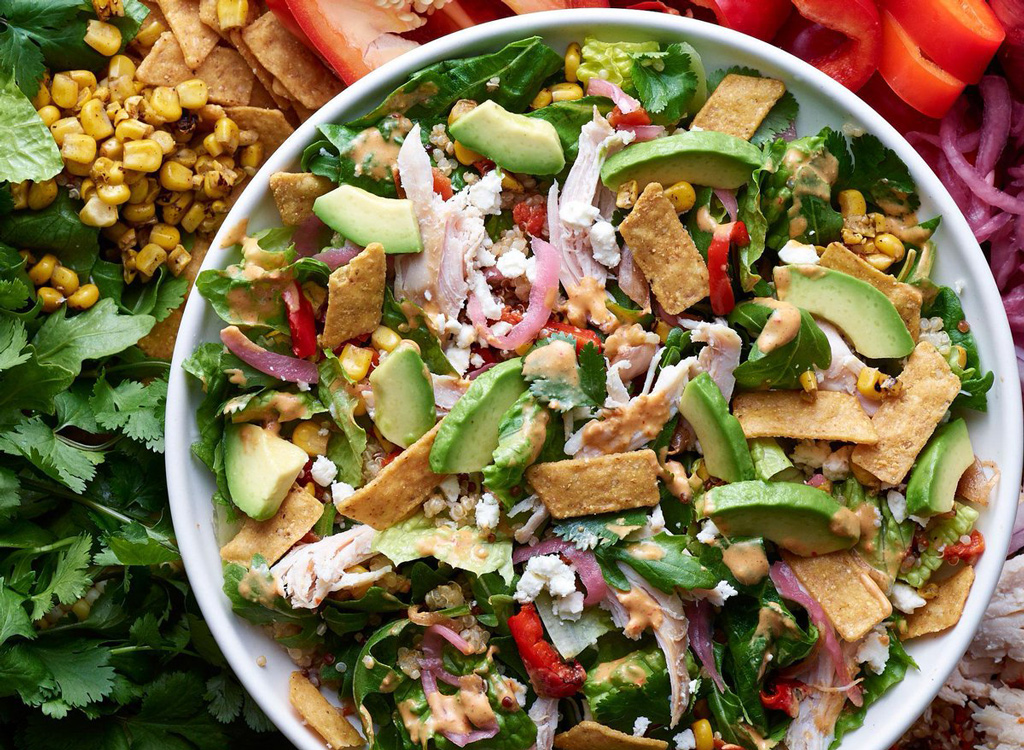 Panera southwest chile lime chicken salad as one of the unhealthiest restaurant salads