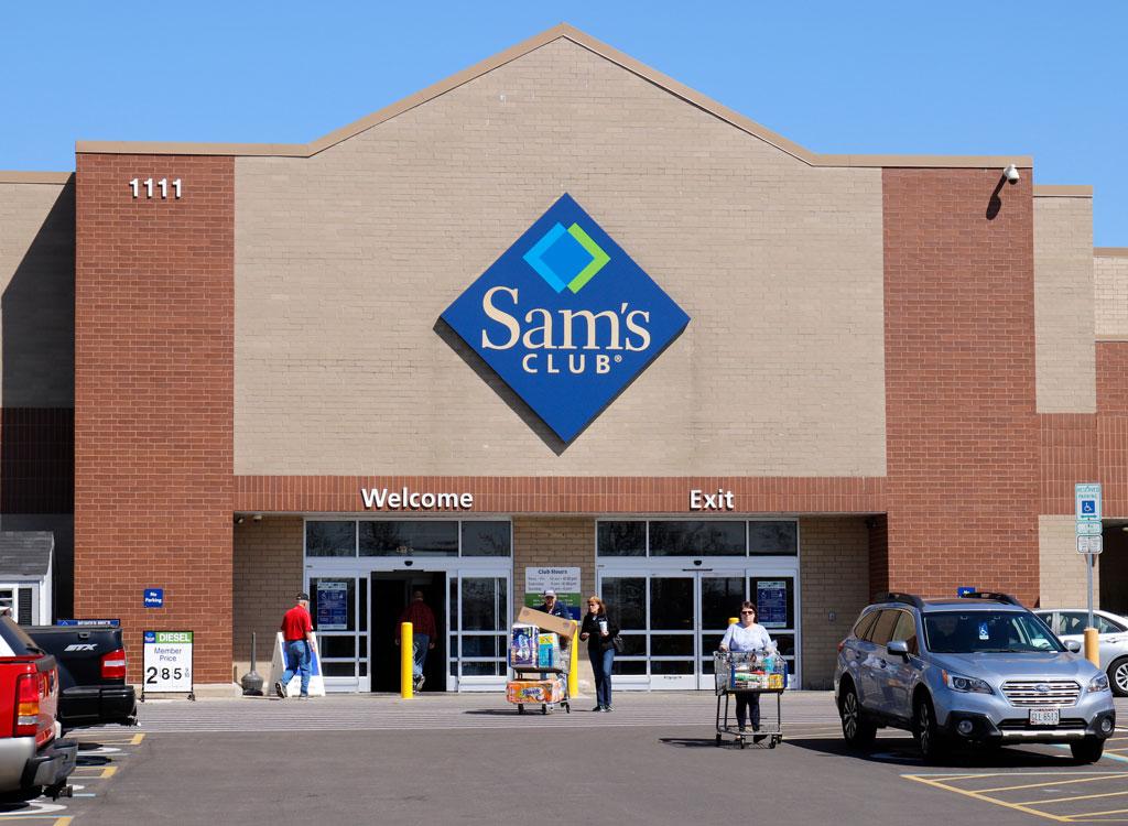 Sams club grocery store