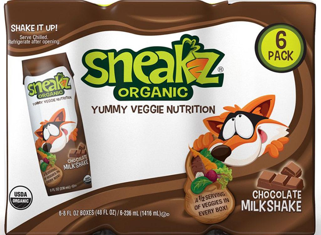Sneakz chocolate milkshakes