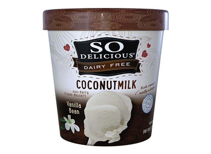So delicious coconut milk ice cream
