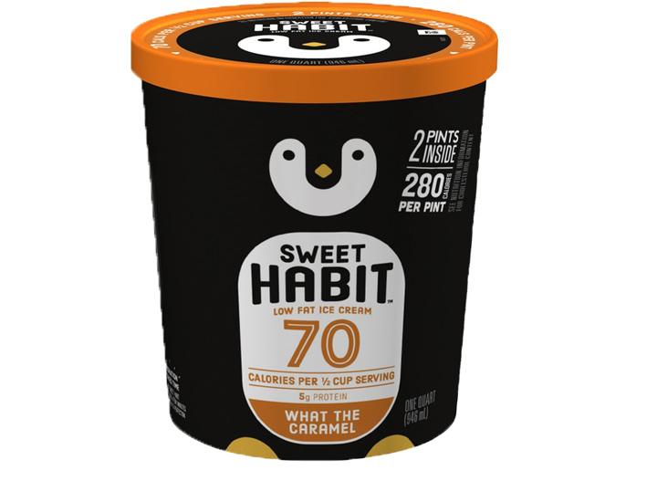 Sweet Habit caramel ice cream