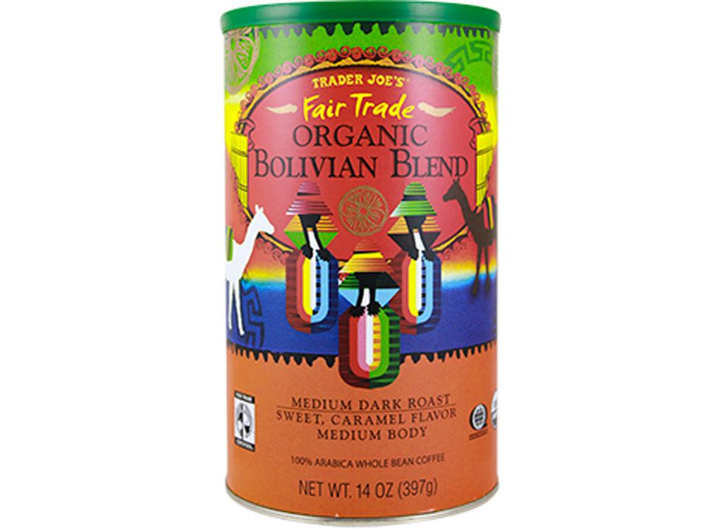 Trader joes organic bolivian blend coffee