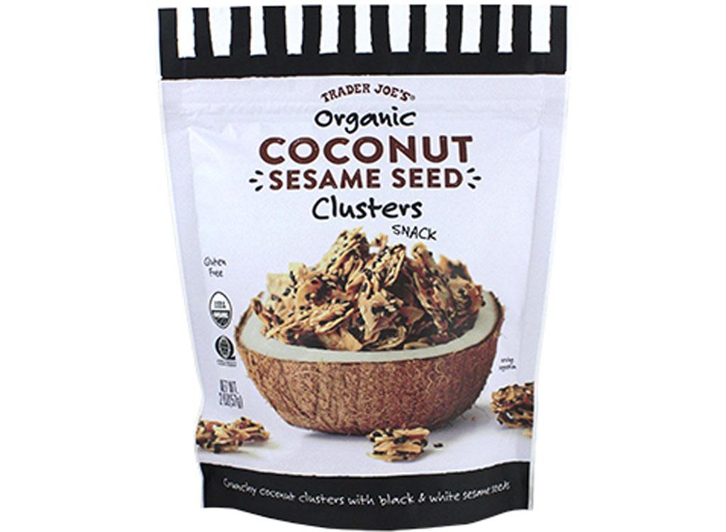 Trader joes coconut seasame cluster