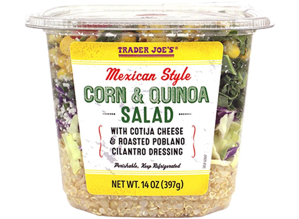 Trader joes corn and quinoa salad
