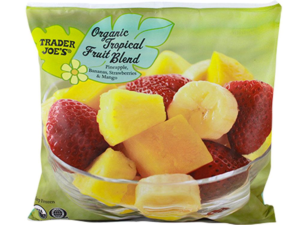 Trader joes organic tropical fruit blend