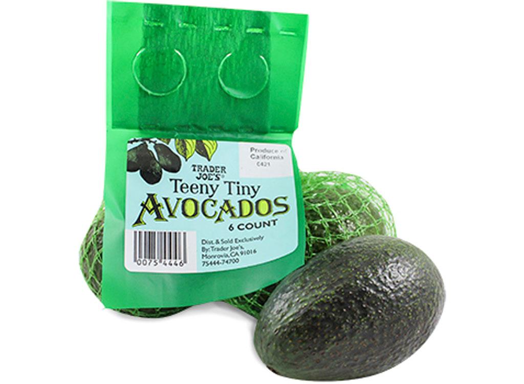 Trader joes teeny tiny avocados