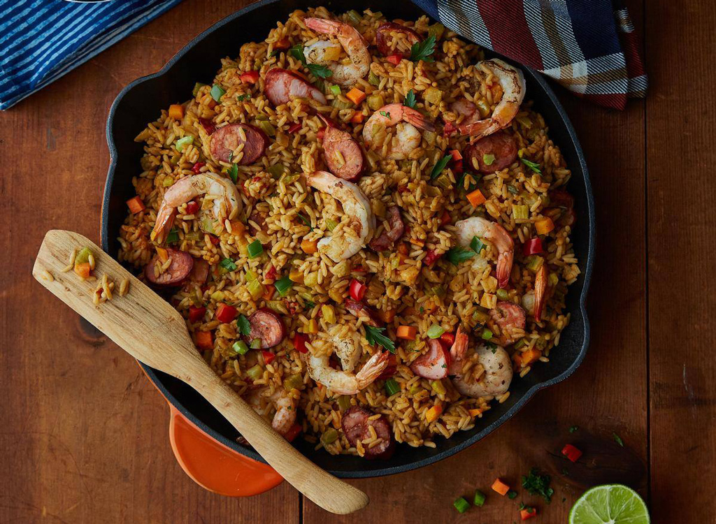 Uncle Ben's seafood rice