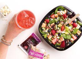 Wendy's berry burst chicken salad