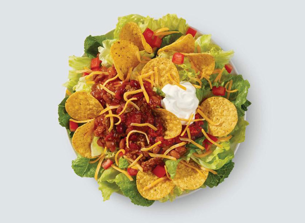 Wendys taco salad as one of the unhealthiest restaurant salads