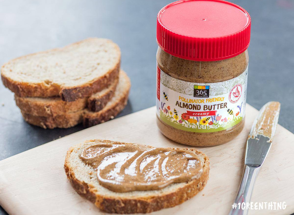 Whole Foods almond butter