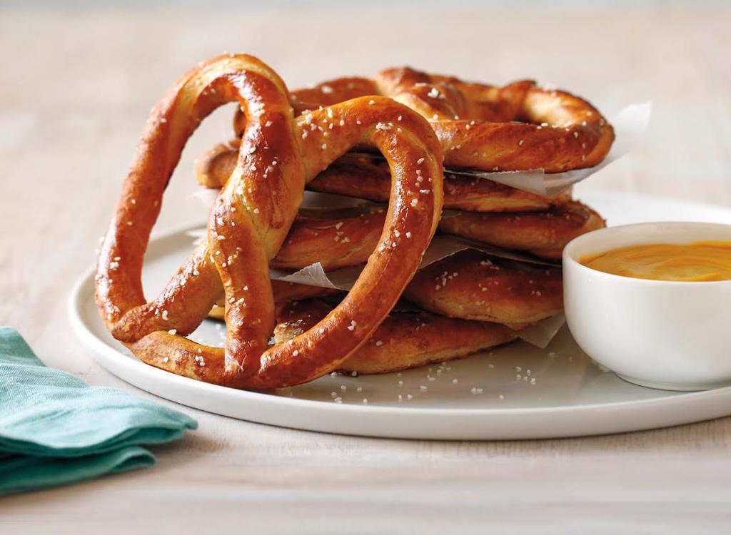 Auntie Annes soft pretzel