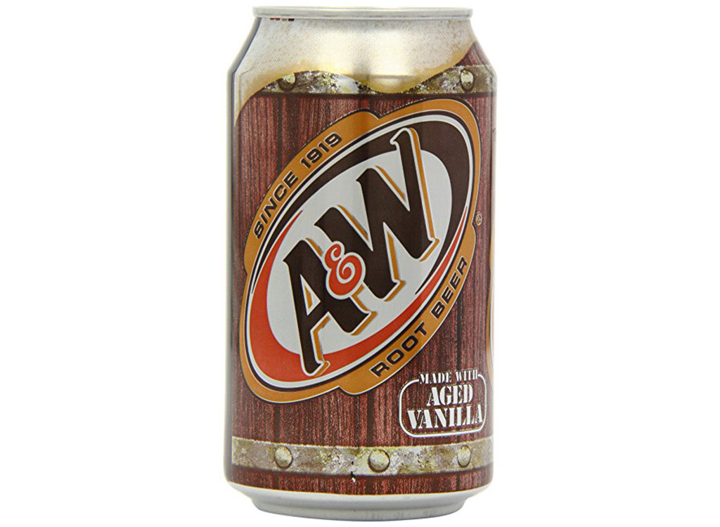 A&w root beer original made with aged vanilla