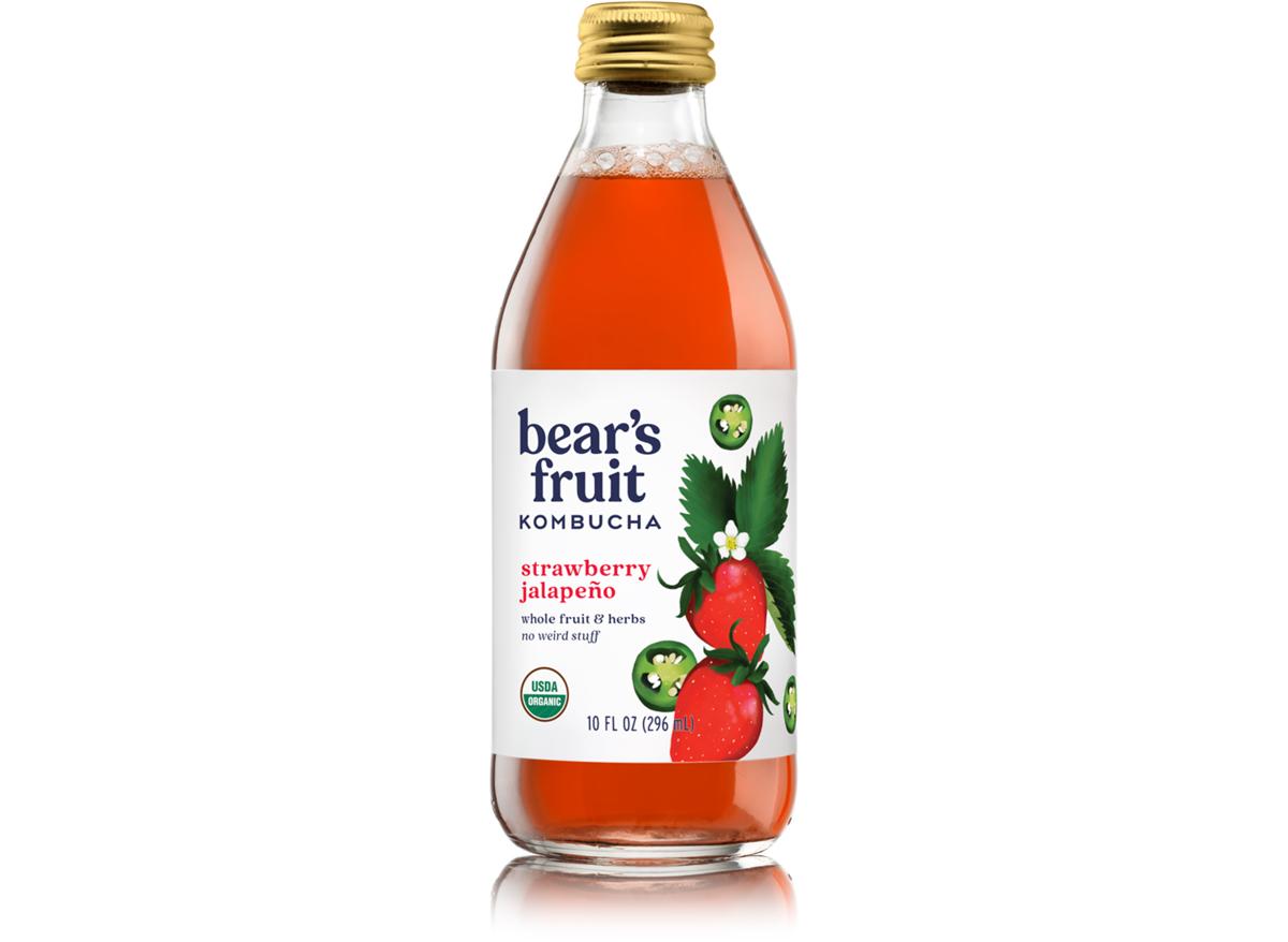 Bears fruit strawberry jalapeno kombucha