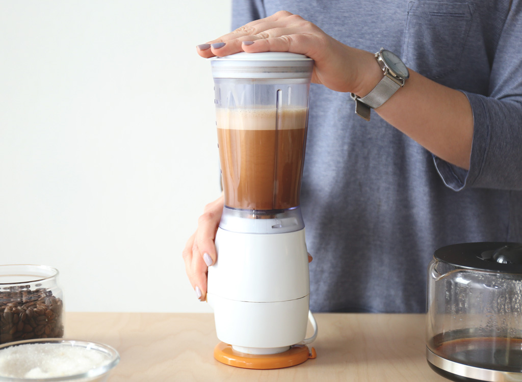 Bulletproof blender coffee
