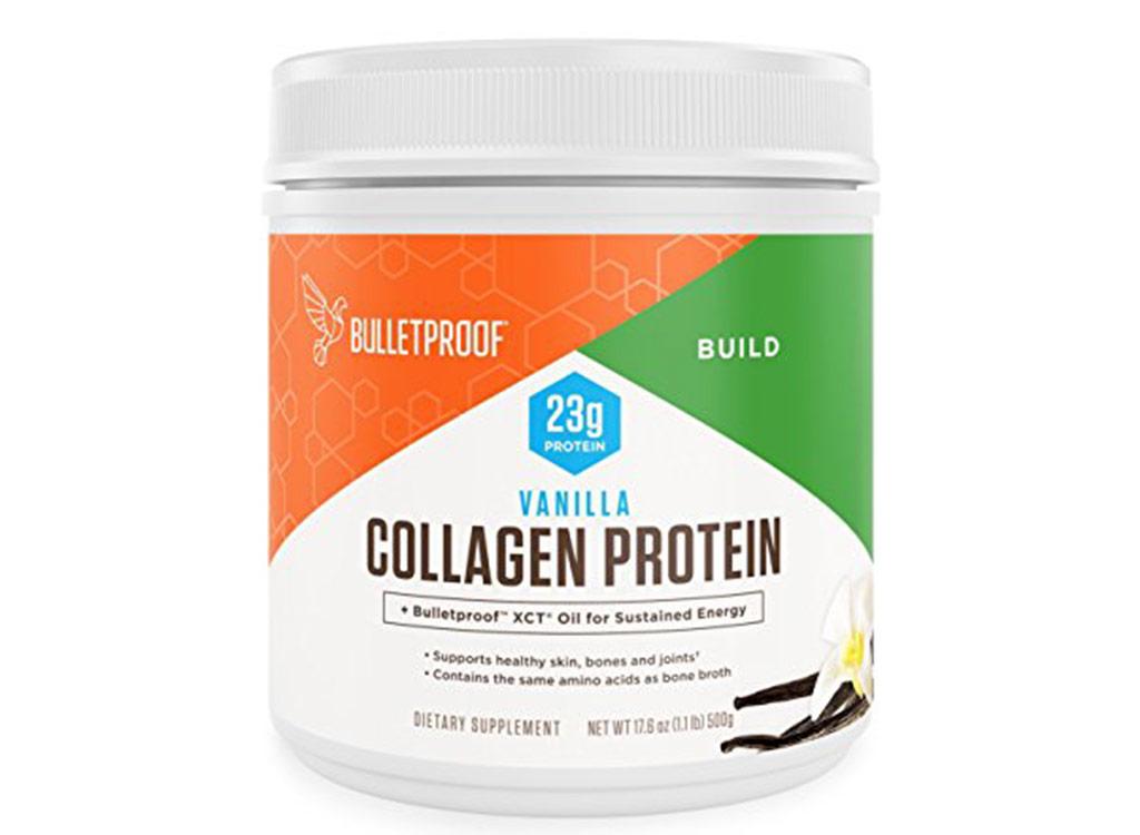 Bulletproof vanilla collagen protein powder