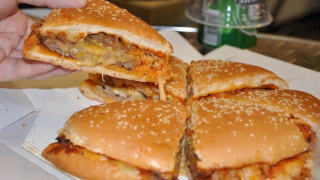 Burger King New york pizza burger