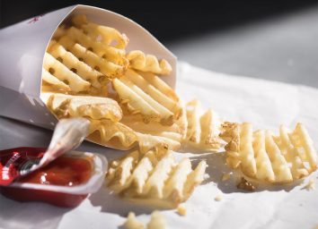 Chick fil a waffle fries facebook