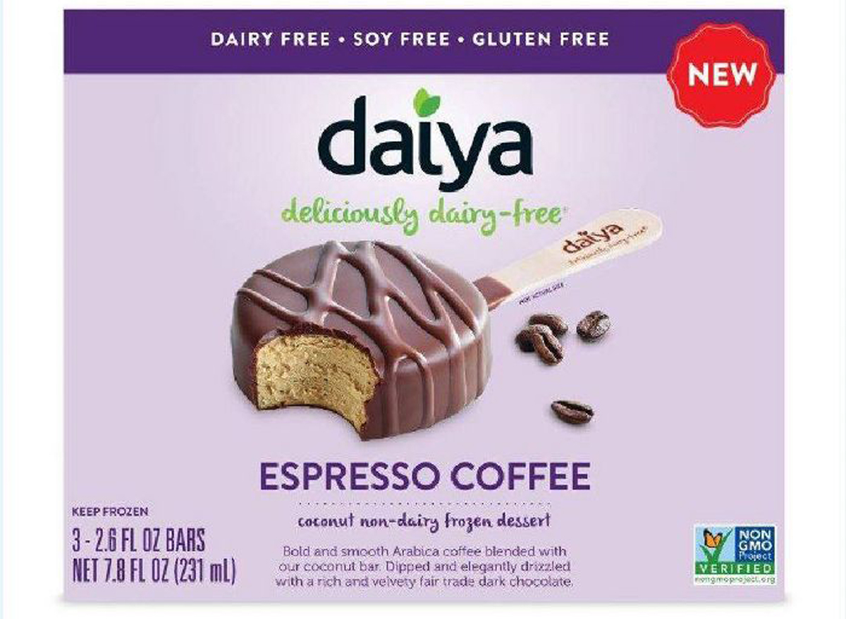 Daiya espresso coffee non dairy ice cream
