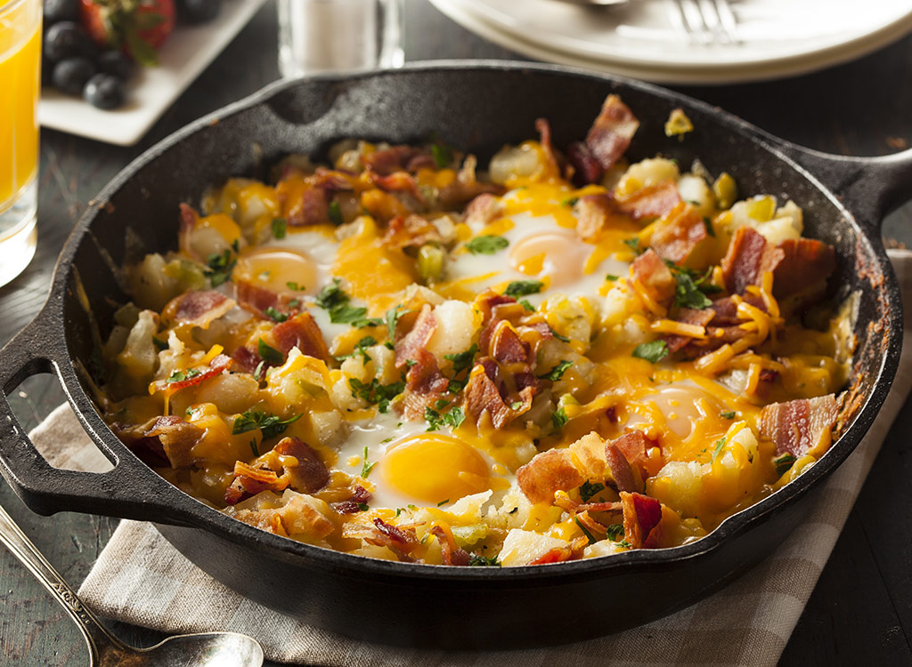 Egg hash browns