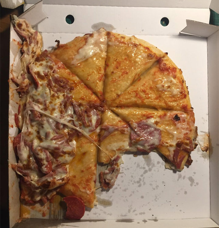 Food fails cheese pizza no cheese