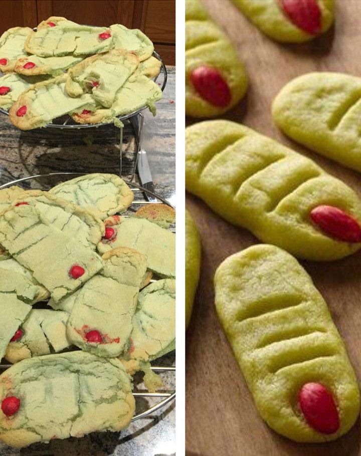 Food fails finger food cookies