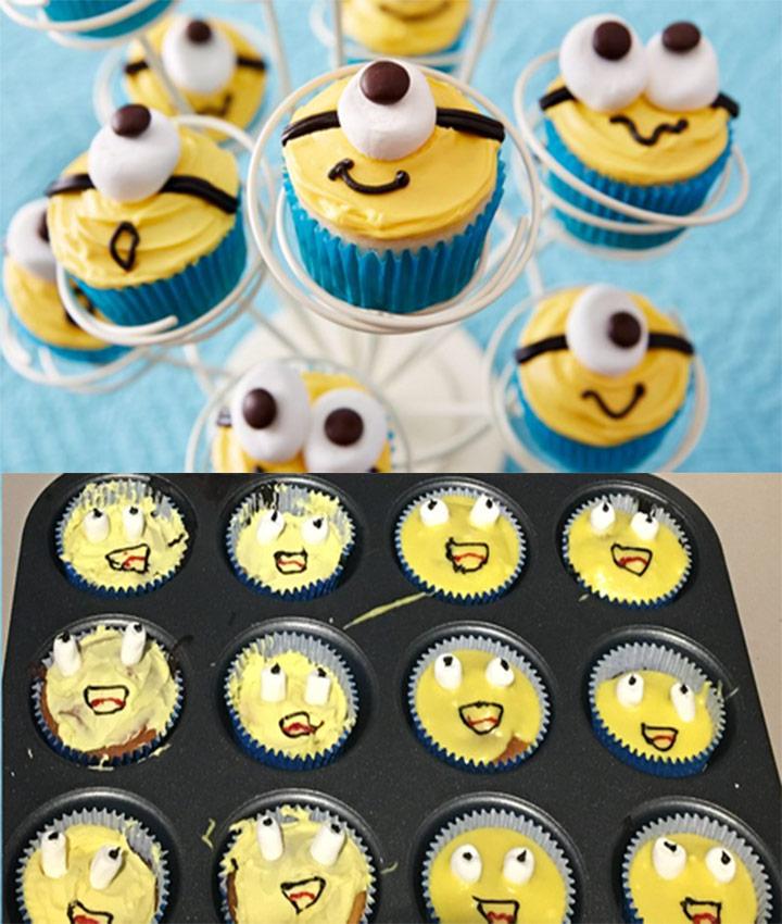 Food fails minion cupcakes