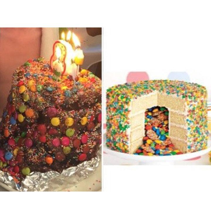 Food fails pinata cake