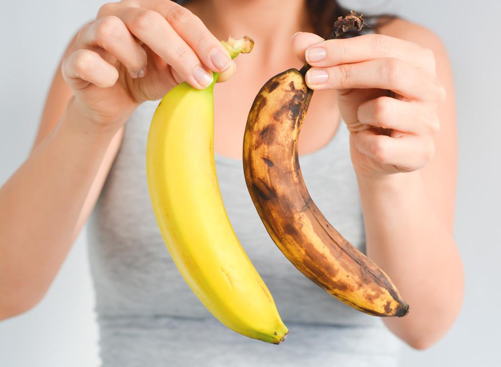 Fresh and ripe bananas
